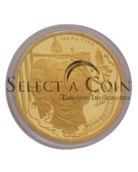 2004 Protea 1oz - Ten year anniversary of a democratic South Africa (Reverse)
