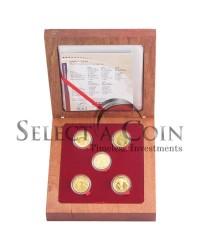 2006-2010 FIFA R2 Gold Prestige Quarter ounce Set - Open Box
