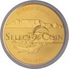 2010 Nelson Mandela 1KG Gold Commemorative Medallion - Reverse