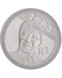 2007 Protea Silver R1 - Mandela Reverse