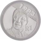 2007 Protea Silver R1 - Mandela