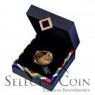 2013 Protea 1oz Gold: Nelson Mandela 1oz Qunu